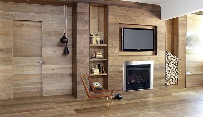 Revestimientospe a maderas pe a maderas - Revestimiento de paredes interiores en madera ...